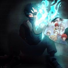 Anime: My Hero Academica <Don't forget to support the artist> My Hero Academia Episodes, My Hero Academia Shouto, Hero Academia Characters, Anime Demon, Anime Manga, Anime Guys, Anime Art, Villain Deku, I Go Crazy