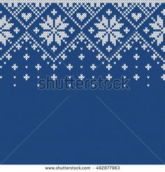 Find Christmas Sweater Design Seamless Knitting Pattern stock images in HD and millions of other royalty-free stock photos, illustrations and vectors in the Shutterstock collection. Fair Isle Knitting Patterns, Knitting Charts, Loom Knitting, Knitting Stitches, Knitting Designs, Knit Patterns, Cross Stitch Patterns, Knitted Christmas Stocking Patterns, Knitted Christmas Stockings