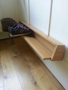 Materials: Pax wardrobe door Description: Shoe rack for any size shoes