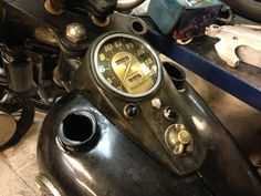 Ossian Motorcycle Syndicate: Parkerized dash