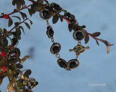 Planetky - náramek z onyxu náramek dárek příroda onyx minerály Drop Earrings, Jewelry, Jewlery, Jewerly, Schmuck, Drop Earring, Jewels, Jewelery, Fine Jewelry