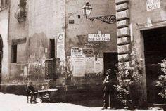 Roma : dalle parti di piazza Navona nel 1862.