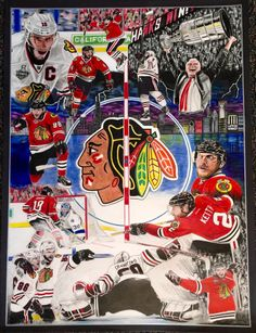 2015 Stanley Cup Champion Chicago Blackhawks