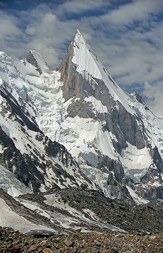 Laila Peak (Gondogoro Glacier Area, Himalaya, Pakistan)