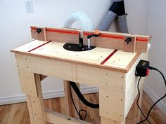 Teds Wood Working - Diy router table plans Diy router table plans If you fancy venturing into the world of woodworking but don t know where to start you have found the right place All of the be - Get A Lifetime Of Project Ideas & Inspiration! Woodworking Courses, Woodworking For Kids, Router Woodworking, Woodworking Projects Diy, Woodworking Furniture, Woodworking Shop, Diy Projects, Woodworking Patterns, Woodworking Supplies