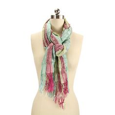 Crushed Silk Scarf now featured on Fab.