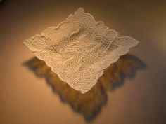 'melt' feldspathic glaze knitting