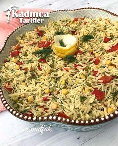 Köz Biberli Arpa Şehriye Salatası Tarifi
