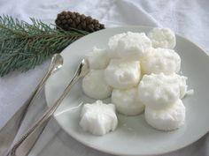 White Snowflake Shaped Sugar Cubes 3 Dozen to by WishingwellArt, $8.00