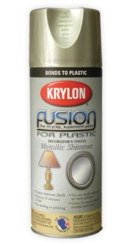 Fusion for Plastic® Metallic Shimmer - I'll report back on how this works on my lacquered IKEA dresser.