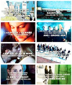 ~Divergent~ ~Insurgent~ ~Allegiant~ I just finished Divergent yesterday, waiting for my friend to finish Insurgent