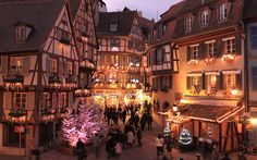 Strasbourg specialises in olde worlde charm, but really comes alive at Christmas