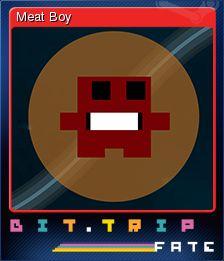 Cromo de Steam «Meat Boy» de BIT.TRIP FATE