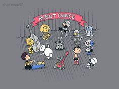 Robot Dance - $7.00 + $5 standard shipping