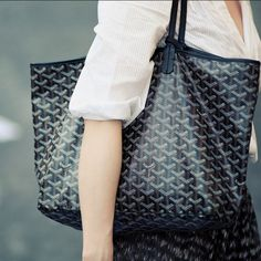 Goyard St. Louis in black pm - would be so lovely monogrammed