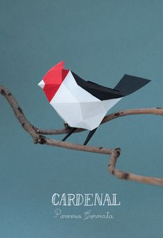 "Delightful Geometric Paper Animal Sculptures ""Artists Caro Silvero and Juan Elizalde of art duo Guardabosques specialize in creating nature-themed art out of paper. Their geometric animal sculptures are particularly delightful. They have more work on their Behance gallery."" These remind me of Charley Harper's art...which I love"