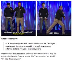 This is hilarious. And exactly why I love Chris. :)