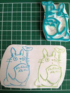 Gomme à graver Totoro