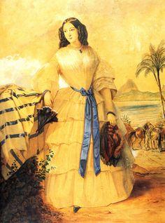 Francisca Carolina of Brazil (1824-1898)