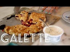 ... APPLE GALETTE on Pinterest | Blueberry galette, Apple galette and