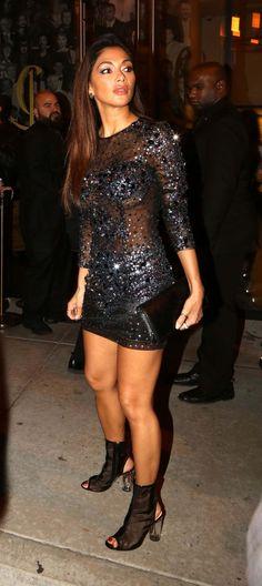 Nicole Scherzinger At Catch La In West Hollywood