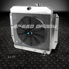 Details about 3 ROW CORE ALUMINUM RADIATOR FOR 19551959