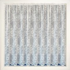 Net Curtain 107 (floral) Pattern '107' Available in the following drop lengths – 36″, 40″, 45″, 48″, 54″, 72″, 90″ Curtains are 100% Polyester – Hand Washable at 30 degrees