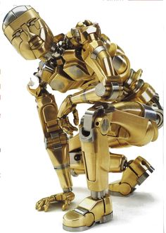 from Scientific American.  a work of art, not a real robot.