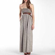 I 'Heart' Ronson® Ruffle Maxi Dress - jcpenney