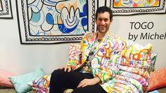 I'm dying for Jon Burgerman Fabrics - http://art-nerd.com/newyork/im-dying-for-jon-burgerman-fabrics/