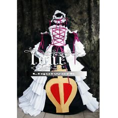 Creative Gothic Queen of Heart Cosplay Magic Costumes for Halloween SKU-131224