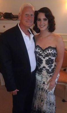 Lana Del Rey & her father Rob #LDR