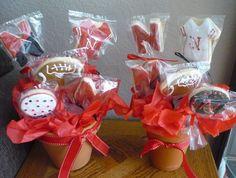 Cookie Bouquets ~ Nebraska Husker Football theme