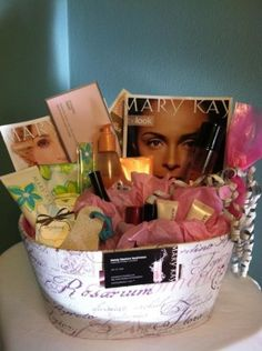 In search of best gifts for her? From birthdays to weddings to Valentines, and all those magical moments in between, here you'll find gifts for her for every occasion. Fundraiser Baskets, Raffle Baskets, Mother's Day Gift Baskets, Holiday Gift Baskets, Creative Gifts, Unique Gifts, Mary Kay Party, Mary Kay Cosmetics, Custom Made Gift