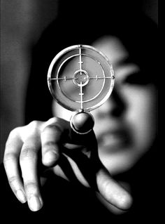 She stretched out her finger and closed an eye to see her target. A familiar prickling sensation erupted in her hand, building up in her pointer finger.