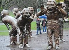 A-Mazing Laughter - Vancouver Canada - At the perimeter of Stanley Park.