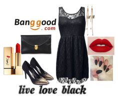 """""""10 banggood"""" by sanela-avdic-mutapcic ❤ liked on Polyvore featuring Yves Saint Laurent"""