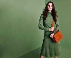 Emily DiDonato Takes on Monochrome for Coccinelle Fall 2015 Campaign