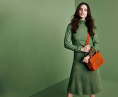 EMILY DIDONATO TAKES ON MONOCHROME FOR COCCINELLE FALL 2015 CAMPAIGN