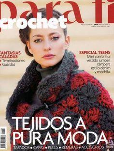 Para Tí Crochet Nº 06 - Melina Crochet - Picasa Web Albums Crochet Coat, Crochet Books, Crochet Shawl, Crochet Clothes, Knitting Magazine, Crochet Magazine, Crochet Designs, Crochet Patterns, Crochet Gratis