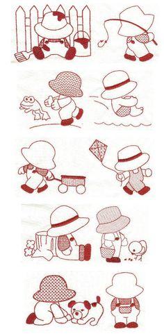 Free Sunbonnet Sue Patterns Downloads | Embroidery designs | free machine embroidery designs | Sunbonnet Sam ...
