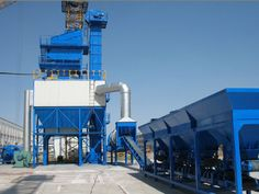 QLB 60t Stationary Asphalt Mix Plant
