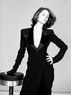 Charlotte Rampling modeling