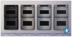 Sugar Coated Hell, Sims 4 Yup…Built-In Ovens & Counter Stove Tops!!!...