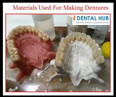 Materials Used For Making Dentures