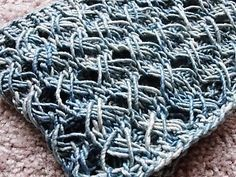 Super quick cowl that's great for spring. Created to show off the complexities of hand-painted yarns. A great use for handspun as well!