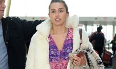 Miley Cyrus wears engagement band after 'reconciliation with Liam Hemsworth' Miley And Liam, Engagement Bands, Liam Hemsworth, Miley Cyrus, Mail Online, Daily Mail, Ring, How To Wear, Fashion