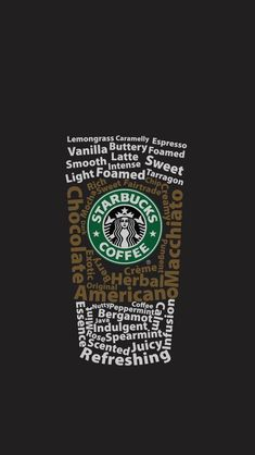 [おしゃれ]スターバックスコーヒー iPhone壁紙 Wallpaper Backgrounds iPhone6/6S and Plus Starbucks