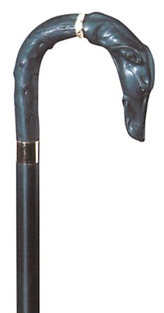 Classic Canes Greyhound Crook Walking Stick 1709 - Classic Canes Greyhound crook A beautiful collector s stick featuring a greyhound s head and neck