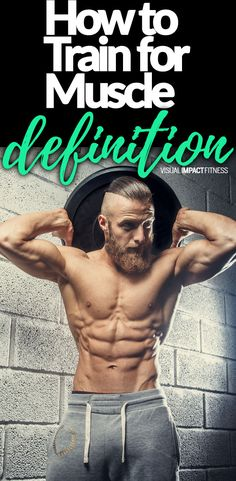 Muscle definition can be drastically increased with proper strength training. You display this increased muscle tone by lowering your body fat levels. #lifting #weightlifting #freeweights #weighttraining #weightlifting #bodybuidling #bodybuilder #increasemuscle #musclemass #resistancetraining